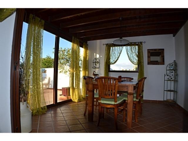 Indoor dining area - Villa Ahlmatel, Playa Blanca, Lanzarote
